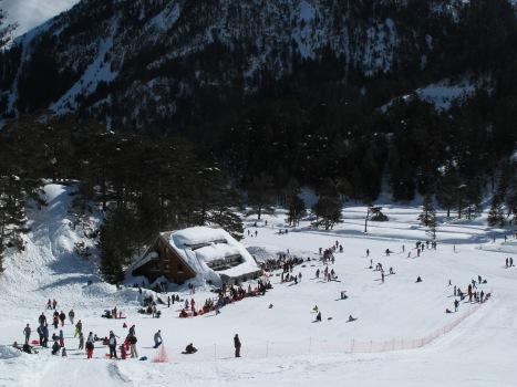 Le Chalet du Clot, hiver 2013